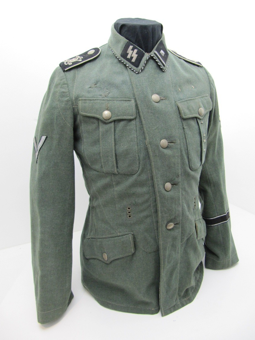 Rare Early Ss Vt Tunic Relics Of The Reich Museum