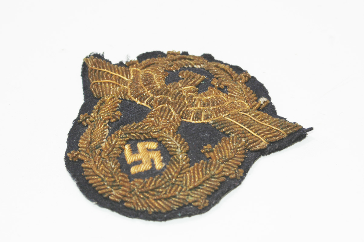 Rare Water Police officers Cap eagle - Relics of the Reich