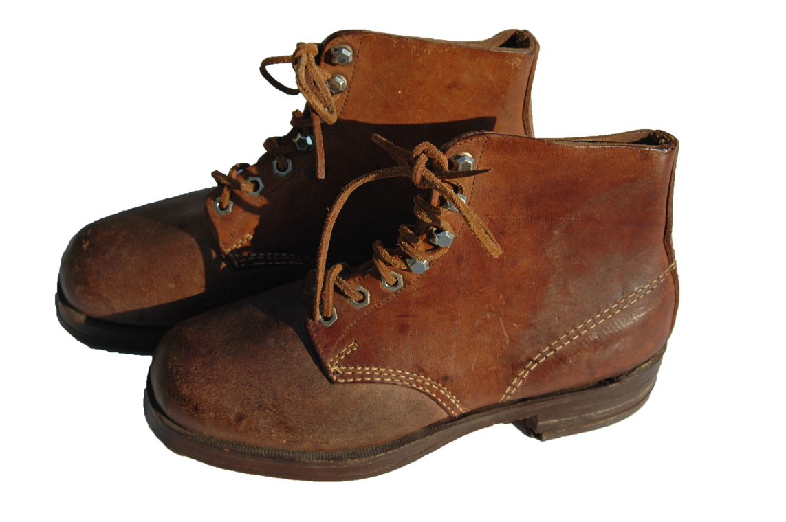 WWII German Combat Short Ankle Boots