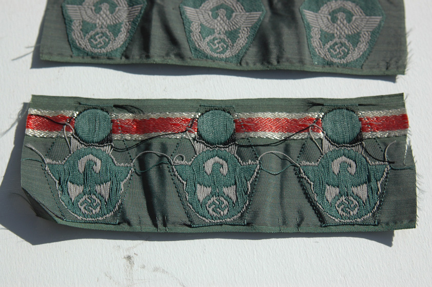 German Police M43 Cap Insignia UNISSUED Several For Sale