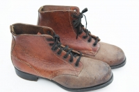 German WWII Army/SS Unissued short ankle RBNr. marked boots