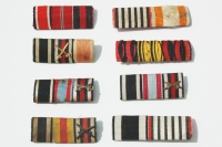German WWI and WWII Medium Size Ribbon Bars