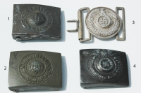 Reproduction German WWII Belt Buckles