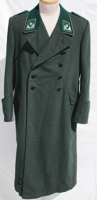 German WWII Forestry Officials Greatcoat, Named