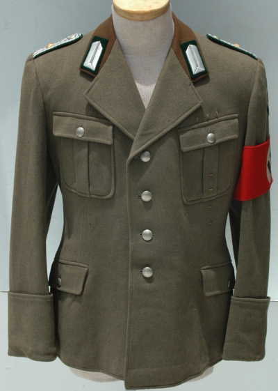 German WWII RAD Officers Administration Tunic