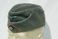 German WWII Panzer Officers M38 Overseas Cap