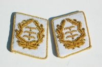 Reproduction German WWII Luftwaffe Generals Collar Tabs