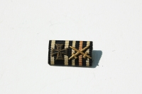 WWI WWII German Ribbon Bar with Mini Iron Cross