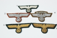 Reproduction Army and NSKK Breast Eagles